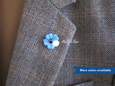 Our Sakura style boutonnieres are blooming in a petite size and unique design.