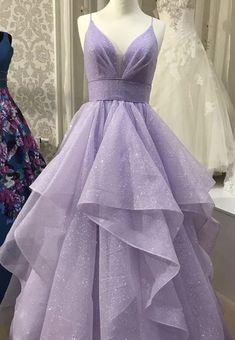 Pretty Prom Dresses, Hoco Dresses, Cheap Prom Dresses, Cute Dresses, Lavender Prom Dresses, Purple Prom Dresses, Lavender Quinceanera Dresses, Corset Prom Dresses, Formal Prom Dresses