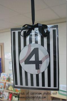 Sports Team classroom theme decor Schoolgirl Style15