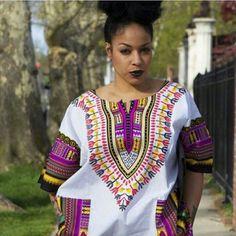 top dashiki outfit ideas for women - 20 ways to wear dashiki African Shirts, African Wear, African Attire, African Women, African Dress, African Style, African Beauty, African Inspired Fashion, African Print Fashion