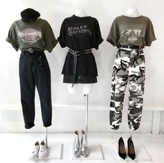 Best Teen Fashion Part 25 Stage Outfits, Kpop Outfits, Edgy Outfits, Mode Outfits, Korean Outfits, Grunge Outfits, Girl Outfits, Fashion Outfits, Ulzzang Fashion