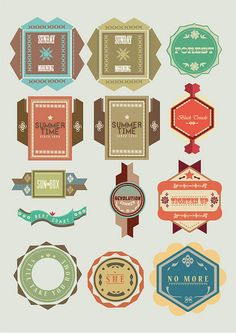 GD vintage logo ideas