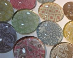 Glass Pattern Magnets