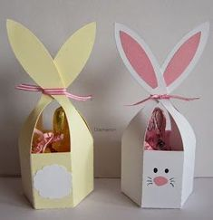Diamantin's hobby world: Easter Bunny - Basteln Ostern - John craft Easter Projects, Easter Crafts For Kids, Spring Crafts, Holiday Crafts, Happy Easter, Easter Bunny, Bunny Bunny, Diy And Crafts, Paper Crafts