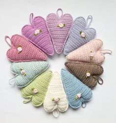 .heart crochet love                                                                                                                                                                                 More