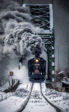 Training Travel Steam Locomotive New Ideas Train Drawing, Old Steam Train, Train Art, Old Trains, Vintage Trains, Train Pictures, Winter Scenery, New Travel, Travel Plane