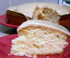 Vanilla Cake with Browned Butter Glaze [RECIPE]