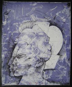 WP Eberhard Eggers Störtebekker Handsigniert 1989 Lithographie auf Bütten Selten