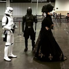 Nobody goes harder than Star Wars cosplayers. We especially love Queen Amidala's elaborate getup.