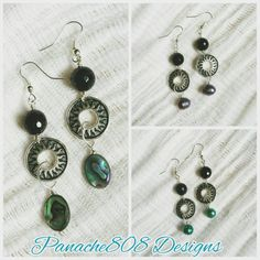 Uptown Girl Uptown Funky Earrings by Panache808Designs on Etsy