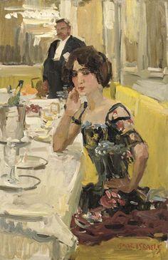Isaac Israëls - A table au Restaurant Le Perroquet, Paris - Isaac Israëls - Wikipedia, the free encyclopedia