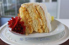 Torta de piña Homemade Cakes, Custard, Dory, Cheesecakes, Food Hacks, Vanilla Cake, Ale, Food And Drink, Pudding