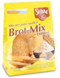 Brot Mix - Tmavy - 1kg 6.31€       Charakteristika:  Bezlepková múka na tmavé pečivo