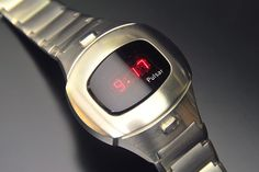 Pulsar P4 Executive (Stainless) Wrist Watches, Watches For Men, Watch Room, Nerd Chic, The Last Laugh, Retro Watches, Led Watch, Digital Watch, Calculator
