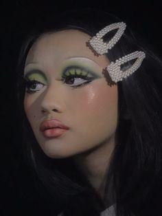 Edgy Makeup, Makeup Eye Looks, Cute Makeup, Makeup Goals, Pretty Makeup, Skin Makeup, Makeup Inspo, Makeup Art, Makeup Inspiration