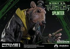 Sideshow Collectibles and Prime 1 Studio are proud to present the Splinter Polystone Statue from Teenage Mutant Ninja Turtles Ninja Turtles 2014, Teenage Mutant Ninja Turtles, Ninja Turtles Splinter, Popular Kids Toys, Apple Books, Sideshow Collectibles, Gentle Giant, Tmnt, Statue