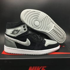 "193b38e8430c10 Buy Best For Sale Air Jordan 1 Retro High ""Aleali May"" Black Shadow  Grey-White from Reliable Best For Sale Air Jordan 1 Retro High ""Aleali May""  Black Shadow ..."
