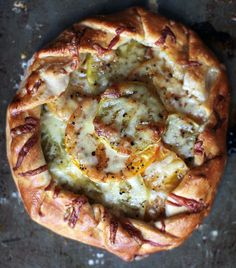 Green Tomato Galette with Vintage Granbury Gold