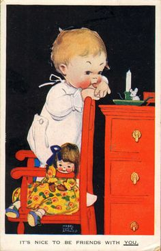 Mabel Lucie Attwell card, 1930 | eBay