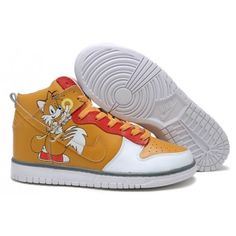 Nike Dunk High Tails Women's shoes in Brown/Red on sale for USA Kobe NBA