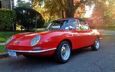 Ready For Fun: 1967 Abarth 1000 OT Spider - http://barnfinds.com/ready-for-fun-1967-abarth-1000-ot-spider/
