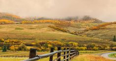 Rainy Day, Landscape Photo, Fall Colors, Fine Art Photography, Nature Photography, Southwest Art, Panoramic, Gallery Wrapped Canvas by JessDukePhotography on Etsy