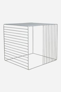 Loha Cage Table - White