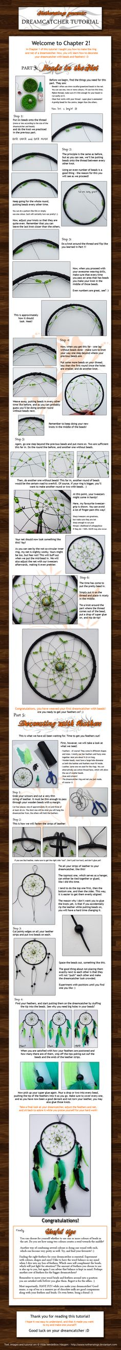 Dreamcatcher tutorial: Ch. 2 by netherwings on deviantART