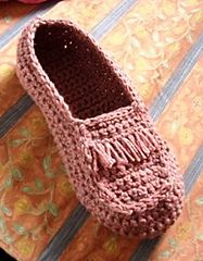Ravelry: Crocheted Moccasin pattern by Umme Yusuf