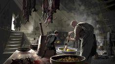 By: Adam Brockbank. Jack the giant slayer © Warner Brothers Productions 2011 Jack The Giant Slayer, Jack And The Beanstalk, Warner Brothers, Sci Fi Fantasy, Comic Artist, Fantasy Creatures, Goblin, Storytelling, Supernatural