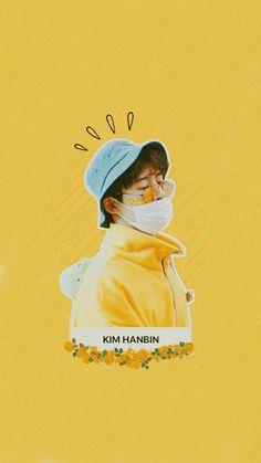 KIM HANBIN Wallpaper #iKON #KimHanbin #Wallpaperkpop #aesthetic #Yellow #iKONWallpaper