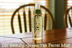 DIY Beauty: Green Tea Facial Mist
