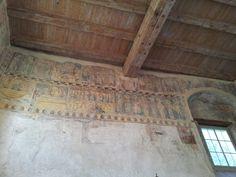 Old Christian frescoes in Bregenz