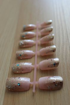 Original Baby Pink Princess Inspired Nails Gradient / by misunis, $10.50