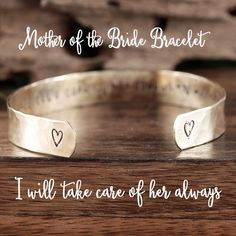 Personalized Mother of the Bride Gift, Mother of the Bride Jewelry, Wedding Party Gift, Gift for Bridesmaid, Maid of Honor Jewelry