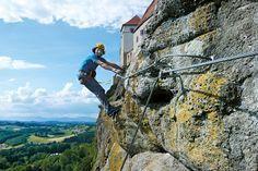 Klettersteig Levels : Klettersteig cima capi susatti am gardasee