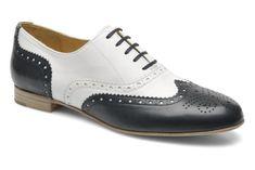 Chaussures à lacets Paralia Georgia Rose vue 3/4