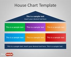 Free House Chart Diagram for PowerPoint is a simple PPT template with a house chart design that you can use as a diagram for your PowerPoint presentations