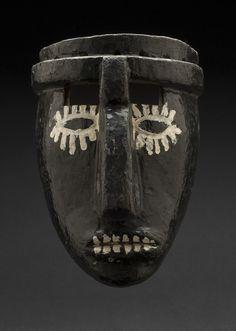cavinmorrisgallery:  MasksMexico - Negrito Vera Cruz mask, circa...