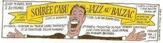 Cabu fait son Jazz au Balzac