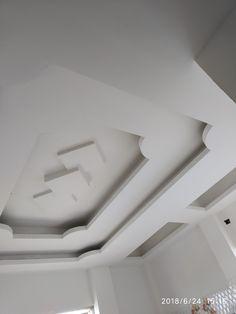 Plaster Ceiling Design, Simple False Ceiling Design, Gypsum Ceiling Design, House Ceiling Design, Ceiling Design Living Room, Bedroom False Ceiling Design, Floor Design, Living Room Designs, Plafond Staff