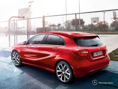 An expression of pulsating life. The Mercedes-Benz A-Class.