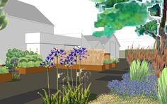 Beste afbeeldingen van tuinontwerp tekeningen locus flevum in