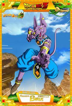 bueno aqui hice una imagen osea tipo poster de battle of gods, con bills ahi como personaje principal en la imagen .. atras esta vegeta ssj 3, arriba goku en una nueva transformacion mas poderosa q...