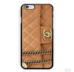 Brown Gold Chanel Bag Photo Image inspiret iPhone Cases Case