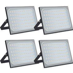 Projecteur Led Extérieur Blanc Froid 300w 8x Floodlight Spotlight 4RA5j3L