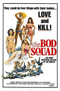 The Bod Squad, movie poster  Source: X-Rated