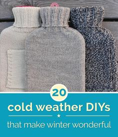20 Cold Weather DIYs That Make Winter Wonderful | thegoodstuff