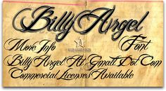 Billy Argel:  Would look romantic with the right background - not on the wild west paper!