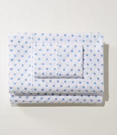 Warm Cotton HeatSmart Sheet Set, Dot